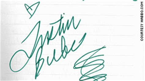 Write a letter to justin bieber